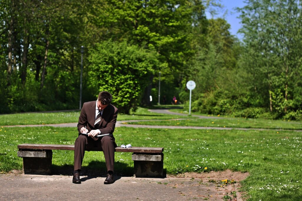 businessman-in-the-park